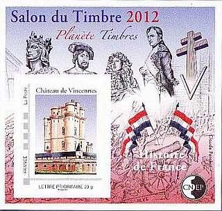Blocs cnep for Salon du timbre 2017